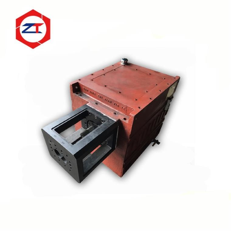 High Performance Twin Screw Gearbox , Gearbox For Extruder Machine Shock Absorption